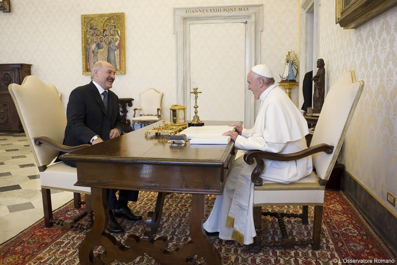 Bielorrusia enviado Papa