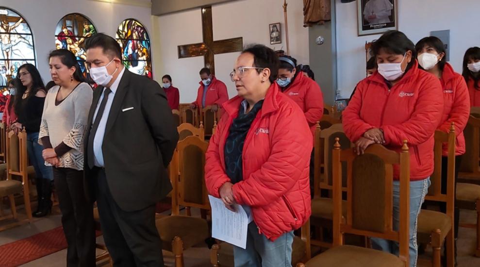 Cáritas Bolivia 62 años