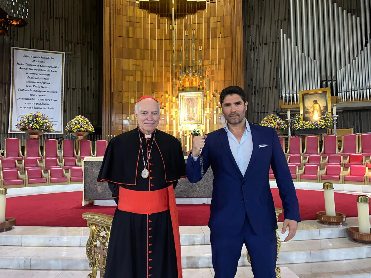 Rosario cardenal Aguiar Eduardo Verástegui