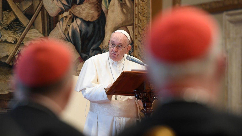 Navidad Papa curia