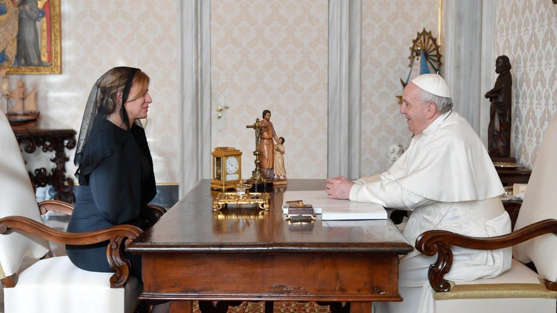 Eslovaquia Papa presidenta República