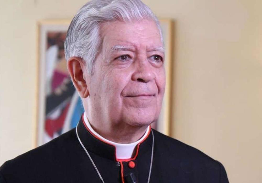 Arzobispo emérito de Caracas: se agrava estado de salud por coronavirus