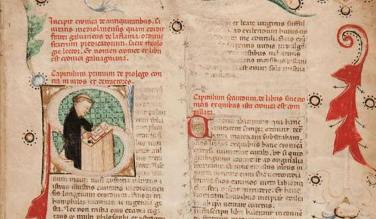 Encuentran manuscrito de fraile italiano que habla de América 150 años antes que llegase Cristóbal Colón