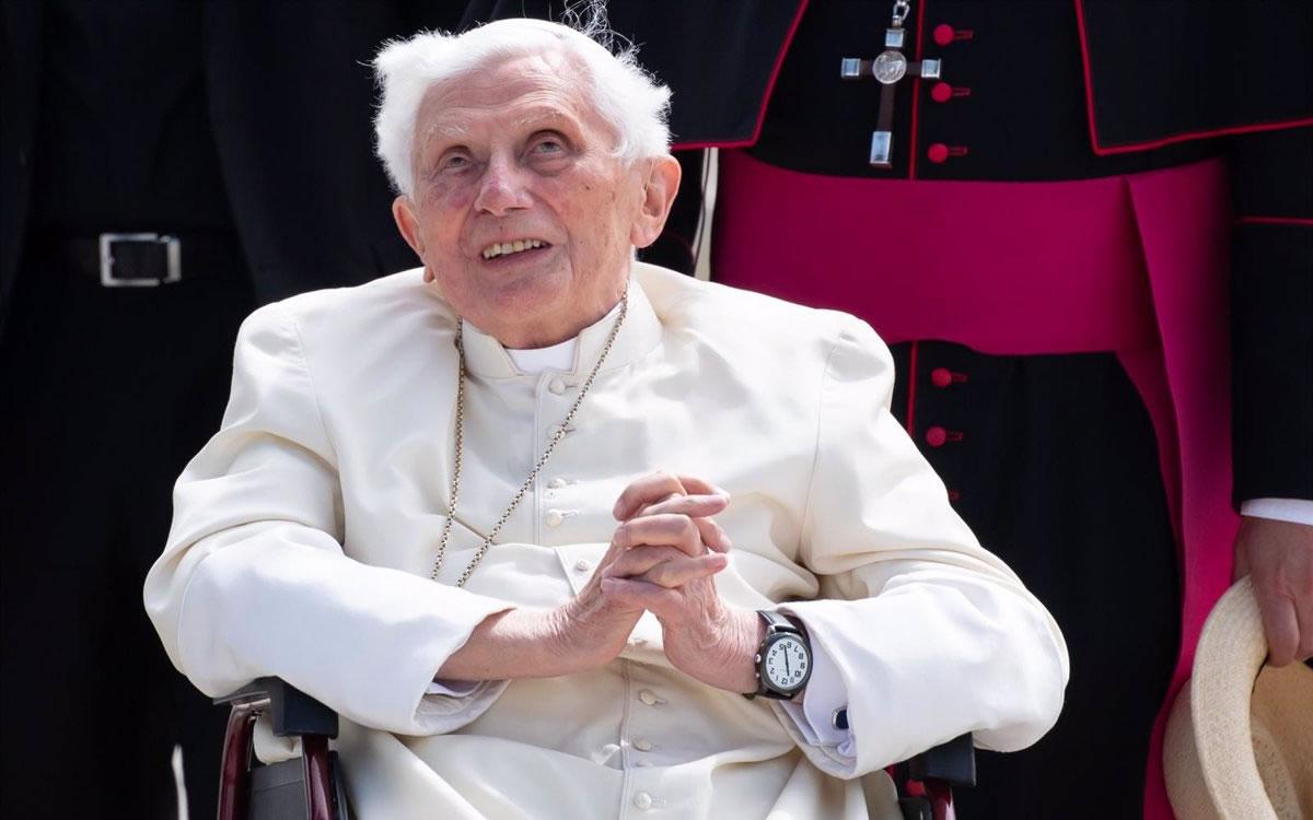 """""""Espero encontrarme con ellos"""", las nostálgicas palabras de Benedicto XVI ante la muerte de un amigo"""